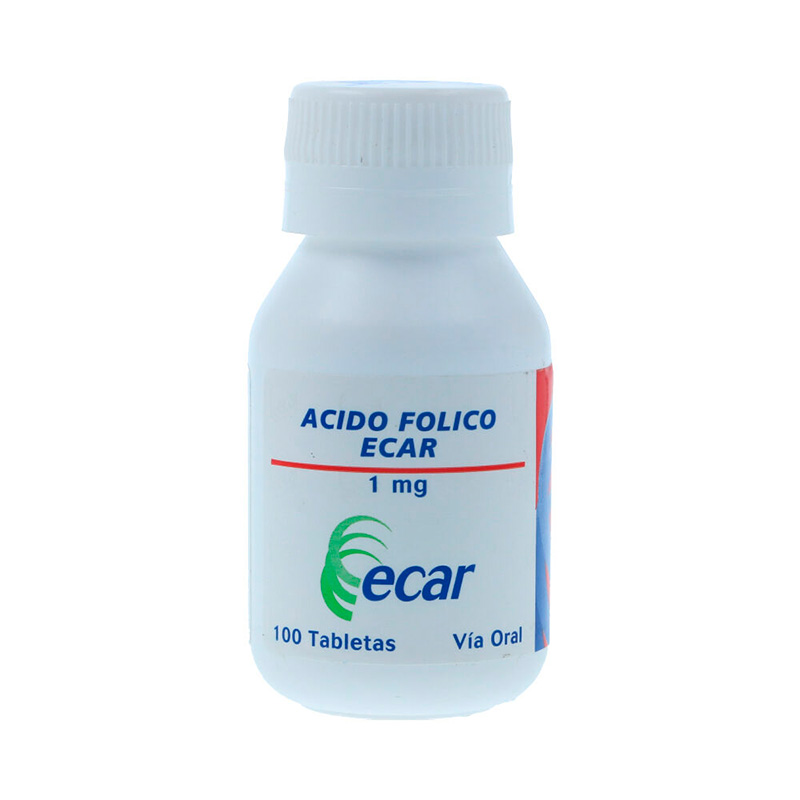 ACIDO FOLICO 1MG X 100TAB. EC