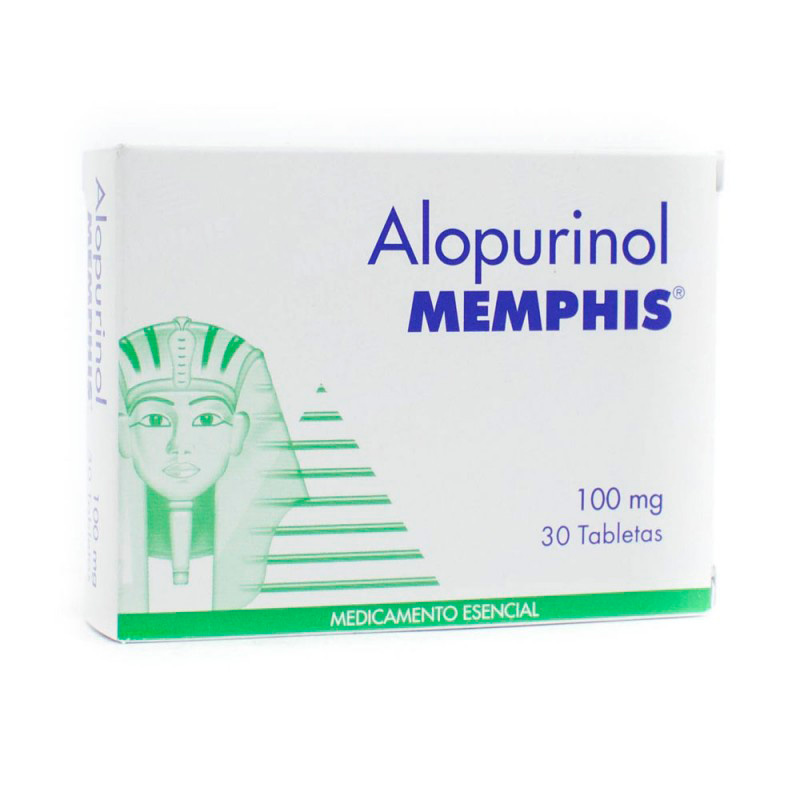 ALOPURINOL 100 MG 30 TBS MP