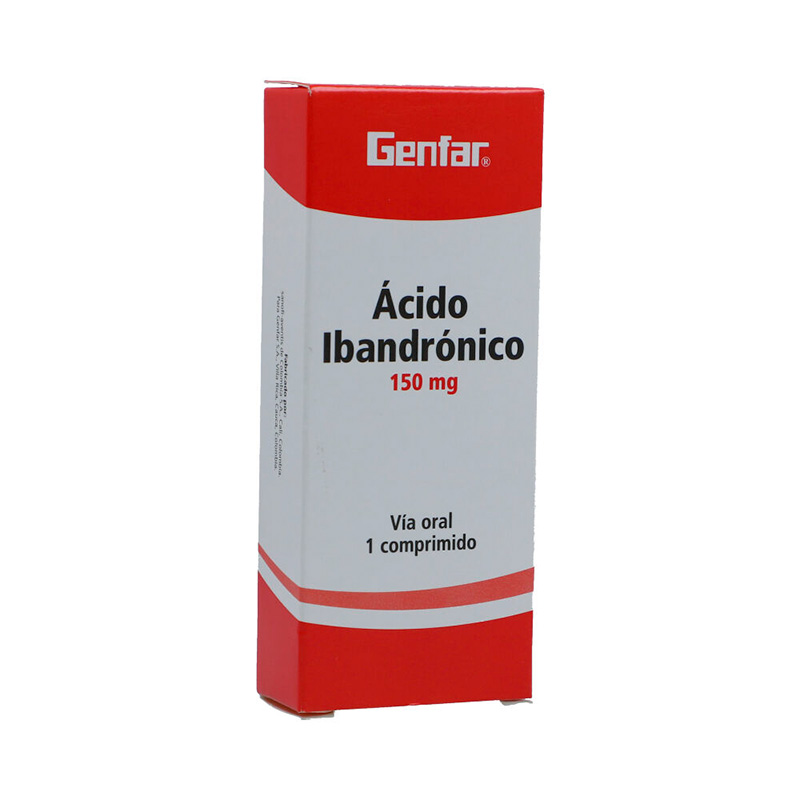 ACIDO IBANDRONICO 150MG X 1COMP GF