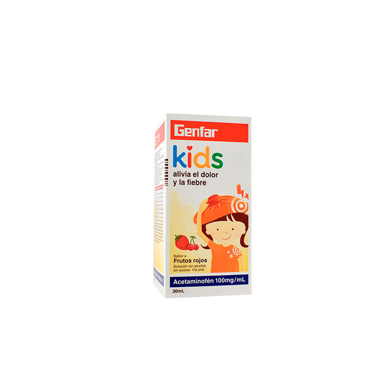 ACETAMINOFEN KIDS 100MG/ML X 30ML.GF