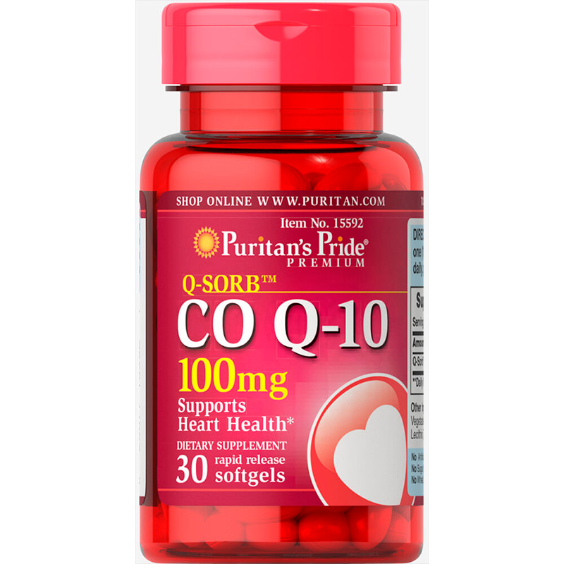 CO Q10 100MG X 30TAB NS