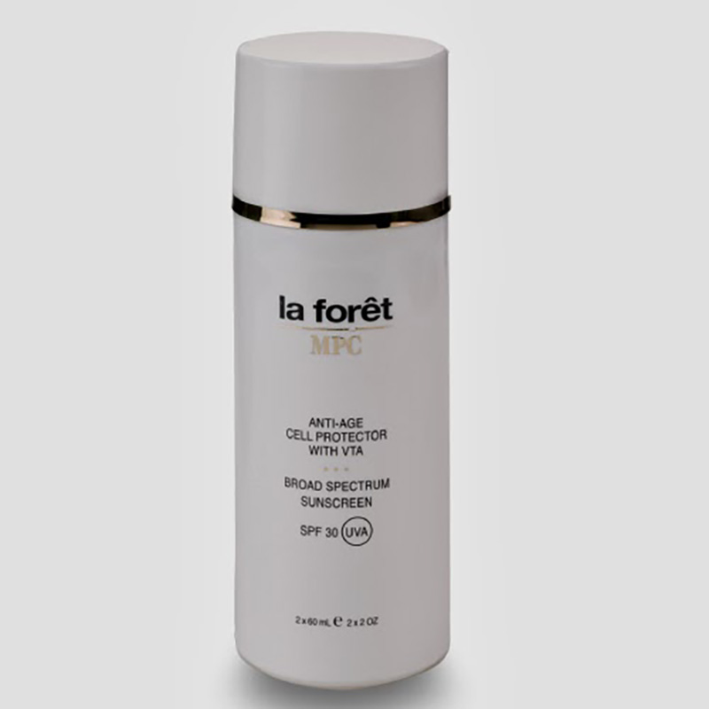 LA FORET ANTI-AGE CELL PROTECTOR+BROAD SPECTRUM SUNSCREEN SPF30 X 125ML.ZF