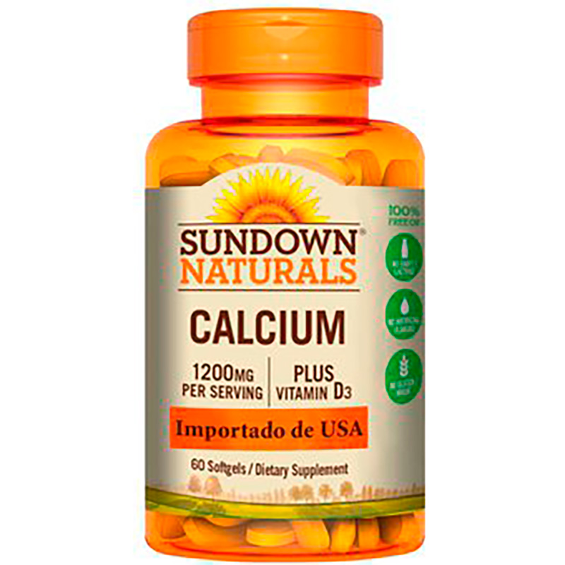 CALCIUM 1200MG PLUS X 60CAP.SN