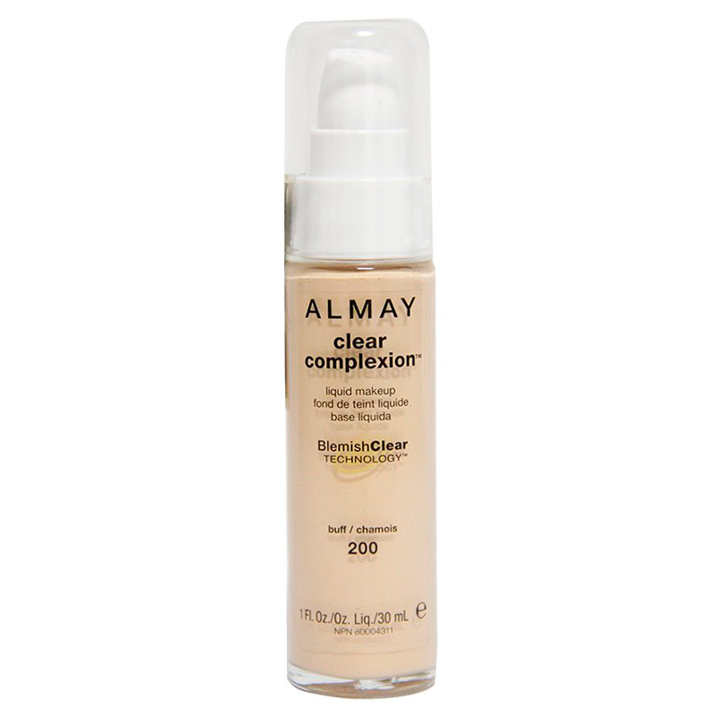 ALMAY BASE LIQUIDA COLOR BUFF CLEAR COMPLEXION