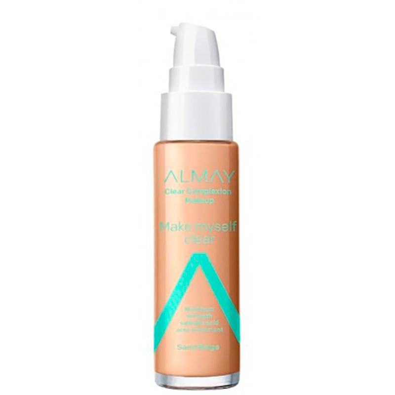 ALMAY BASE LIQUIDA COLOR BEIGE CLEAR COMPLEXION
