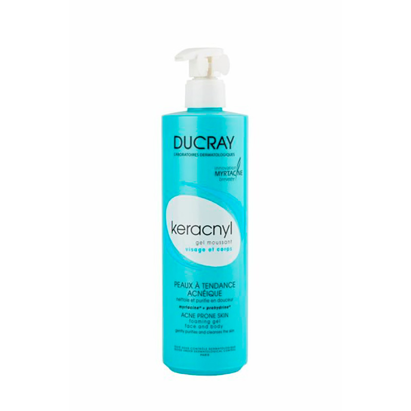 DUCRAY KERACNYL GEL X 400ML PERCOS