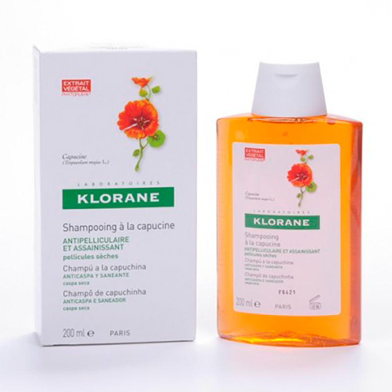 KLORANE SHAMPOO ANTICASPA 200ML PERCOS