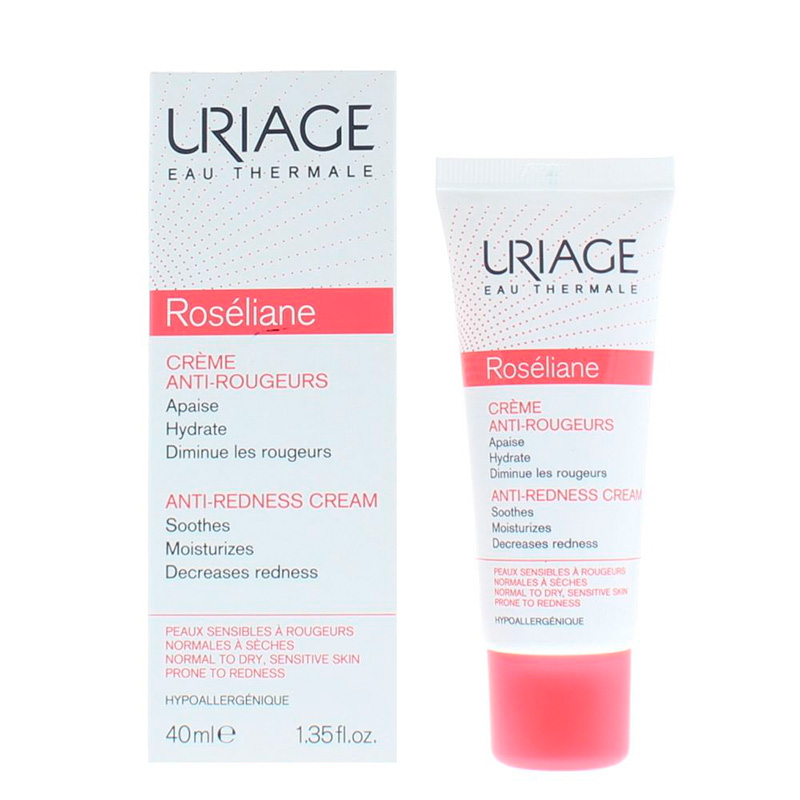 URIAGE ROSELIANE CREME ANTI-ROUGEURS X 40ML.MF