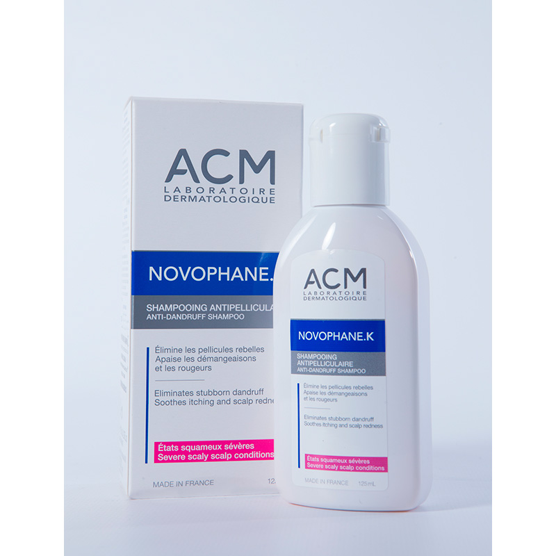 ACM NOVOPHANE K SHAMPOO  X 125ML.EP