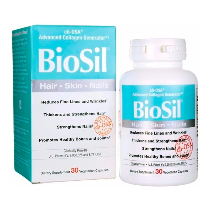 BIOSIL UÃ'Â¥AS/CABELLO X 30CAP PC