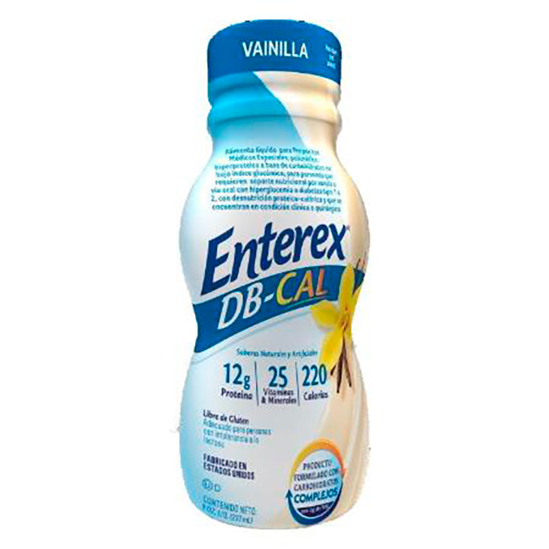 ENTEREX DB-CAL VAINILLA X 237ML