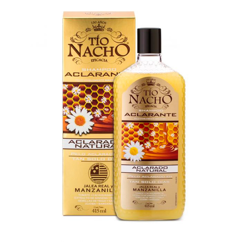 CHA.TIO NACHO ACLARANTE J.REAL MAN.415ML