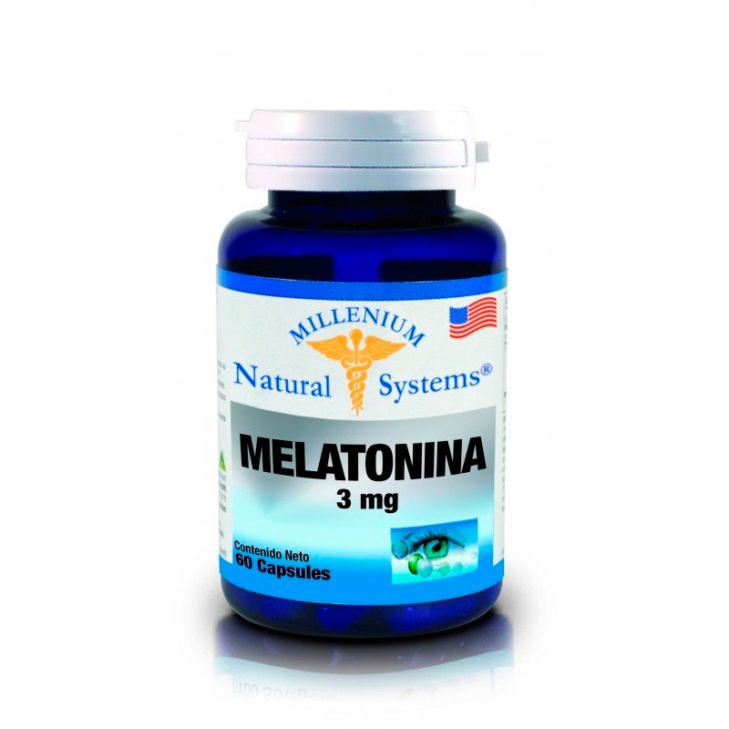 MELATONINA 3MG X 60CAP.NS