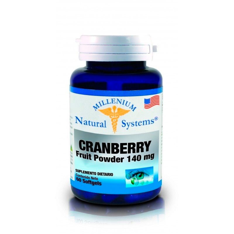 NATURAL SYSTEMS CRANBERRY FRUIT POWDER 140MG X 60CAP.NS