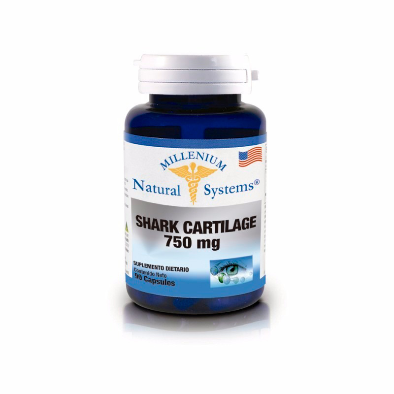 NATURAL SYSTEMS SHARK CARTILAGE 750MG X 90CAP.NS