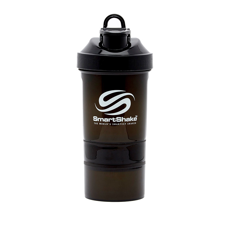 SMARTSHAKE ORIGINAL 2GO X 600ML GUN SMOKE BLACK FG