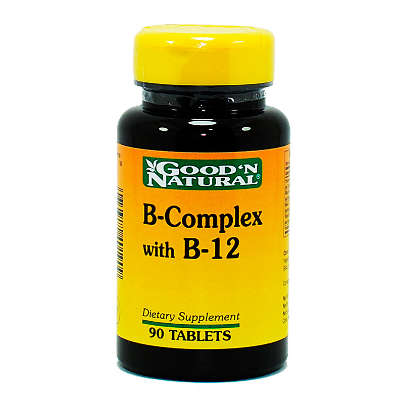 B-COMPLEX AND B-12 90CAP.GN