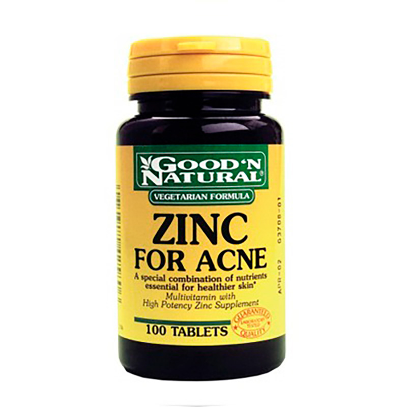 ZINC FOR ACNE X100TAB GN