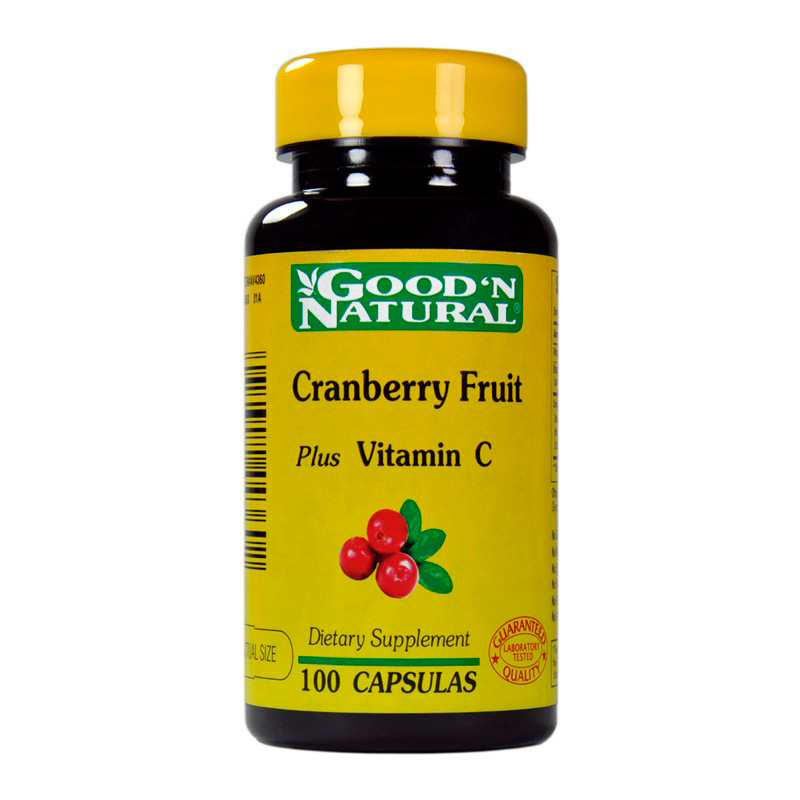 CRANBERRY FRUIT PLUS VIT.C X 100CAP.GN