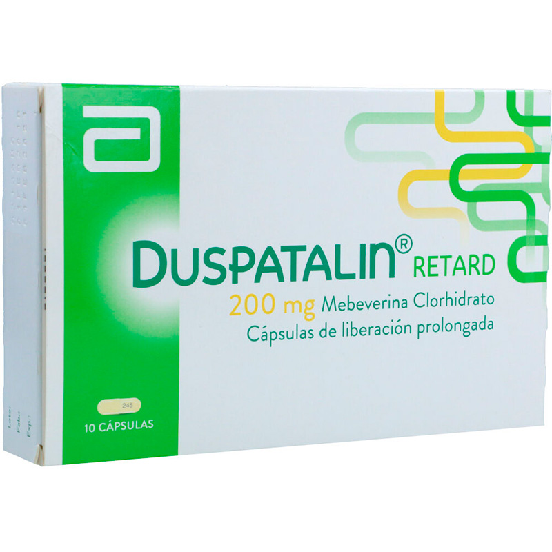DUSPATALIN RETARD 200MG X 10CAP.LF