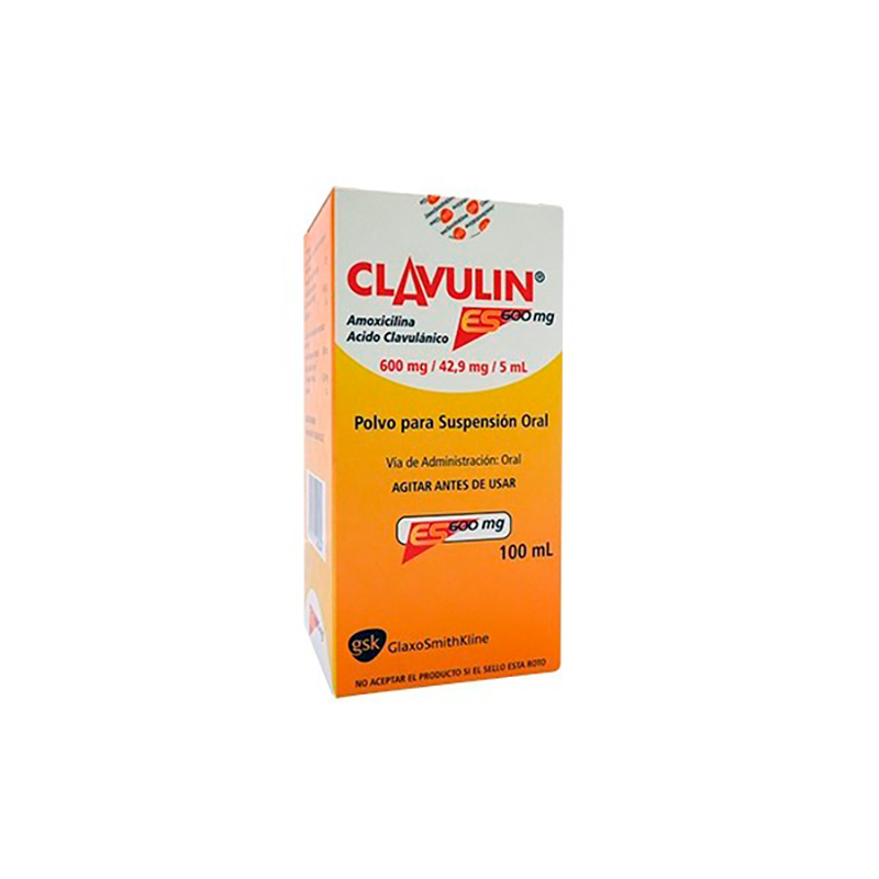 CLAVULIN ES 600MG X 100ML.GSK
