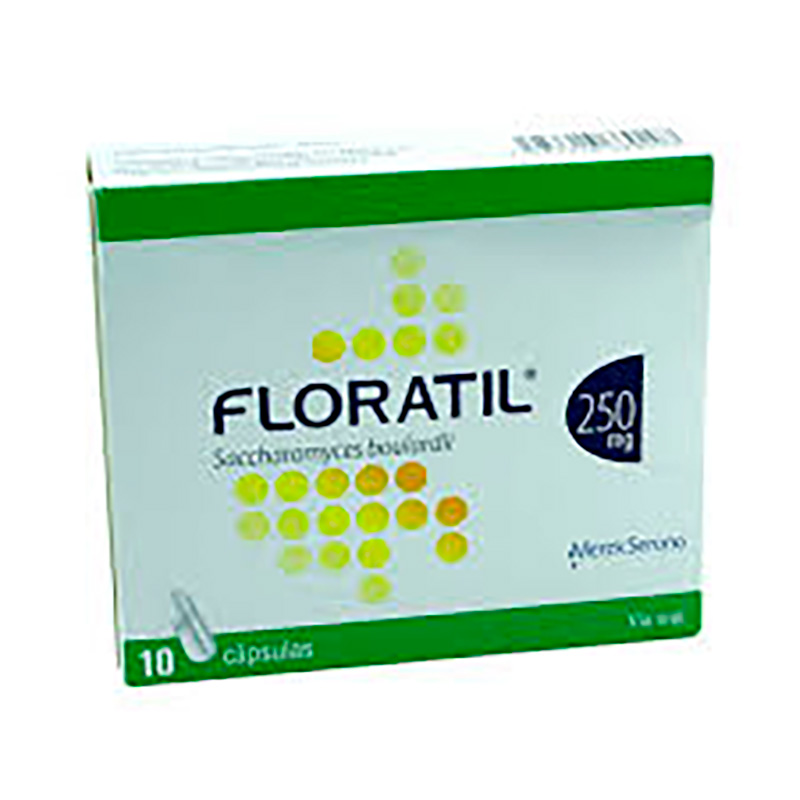 FLORATIL 250MG X 10CAP.BP