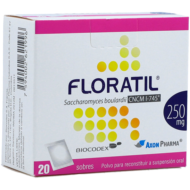 FLORATIL 250MG X 20SBS.BP