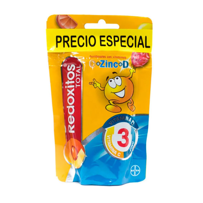 2 REDOXITOS TOTAL GUMS X50UDS.BY