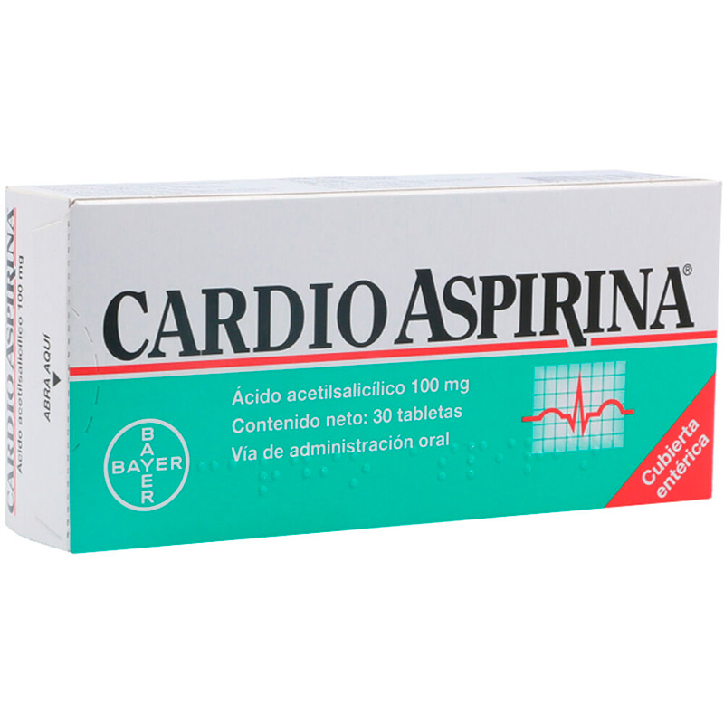CARDIOASPIRINA 100MG X 30TAB.BY