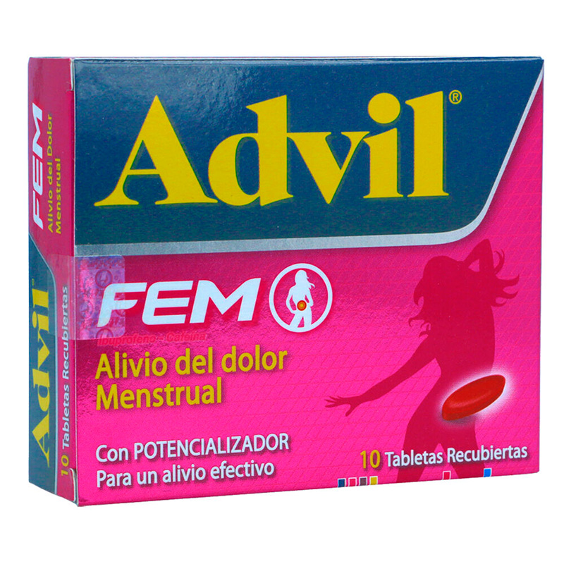 ADVIL FEM CAJA X 10 TABLETA PF