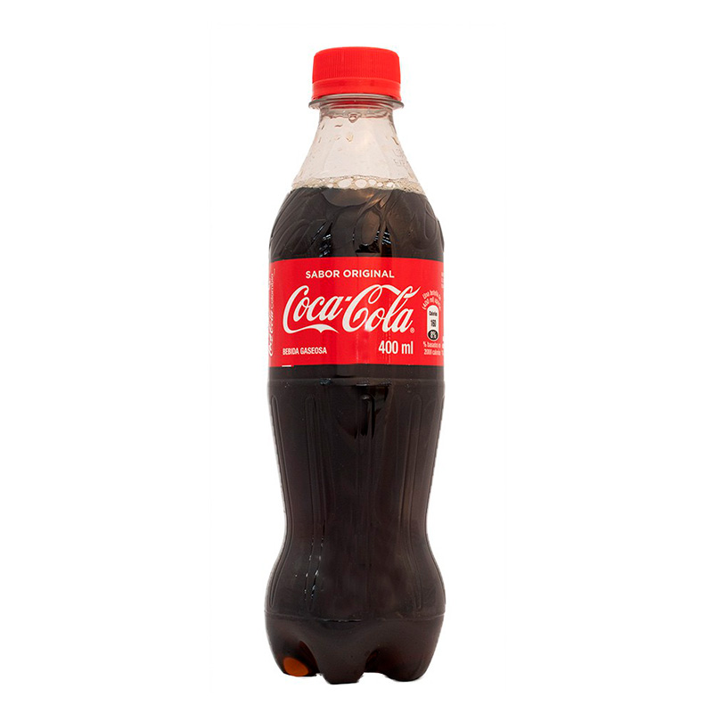 COCA-COLA SABOR ORIGINAL X 400ML.CC