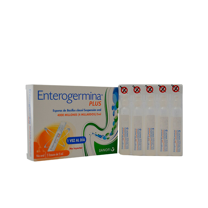 ENTEROGERMINA PLUS 5ML X 5AMP SF