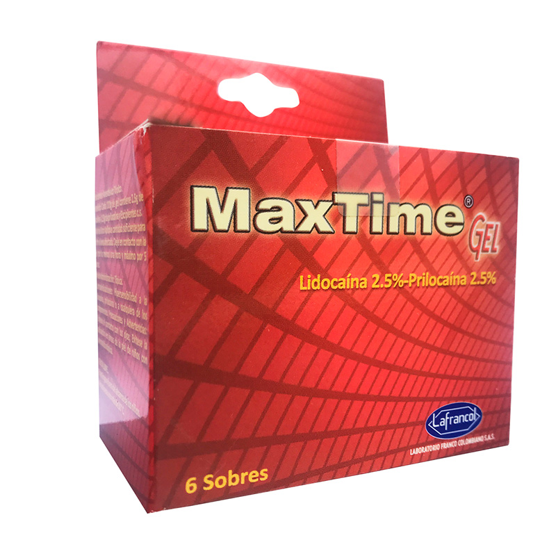 MAXTIME GEL DISPLAY 6 SBS