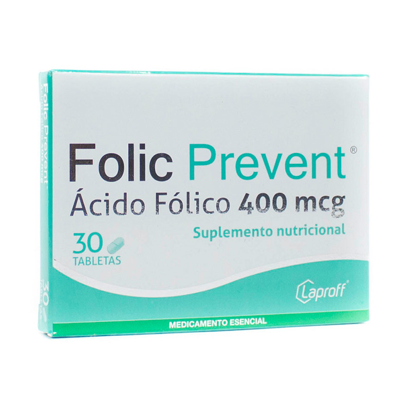 FOLIC PREVENT X 30TAB.LP