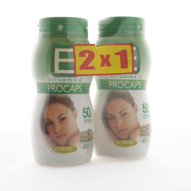 VITAMINA E 400 UI 50 UDS PAGUE 1 LLEVE 2