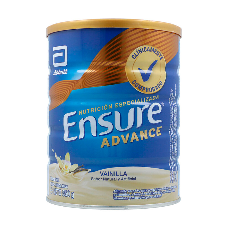 ENSURE ADVANCE VAINILLA X 850GR.AB