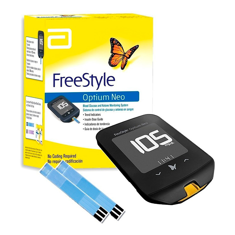 FREESTYLE OPTIUM NEO+50TIRAS.AB