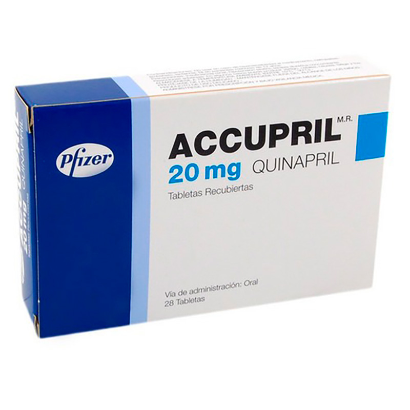 ACCUPRIL 20MG X 28TAB.PF