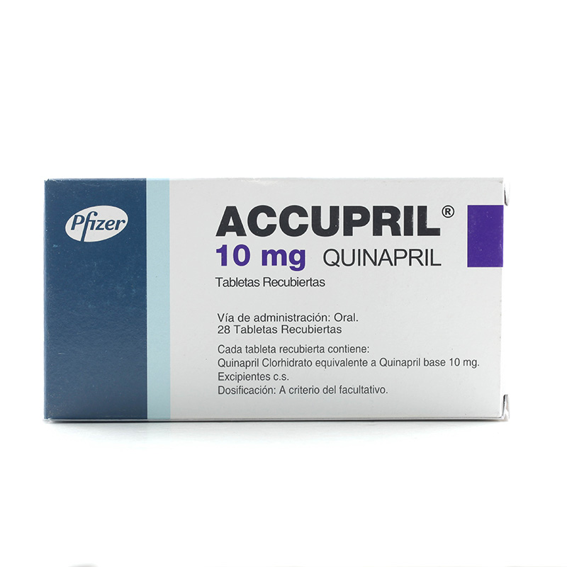 ACCUPRIL 10ML X 28TAB.PF