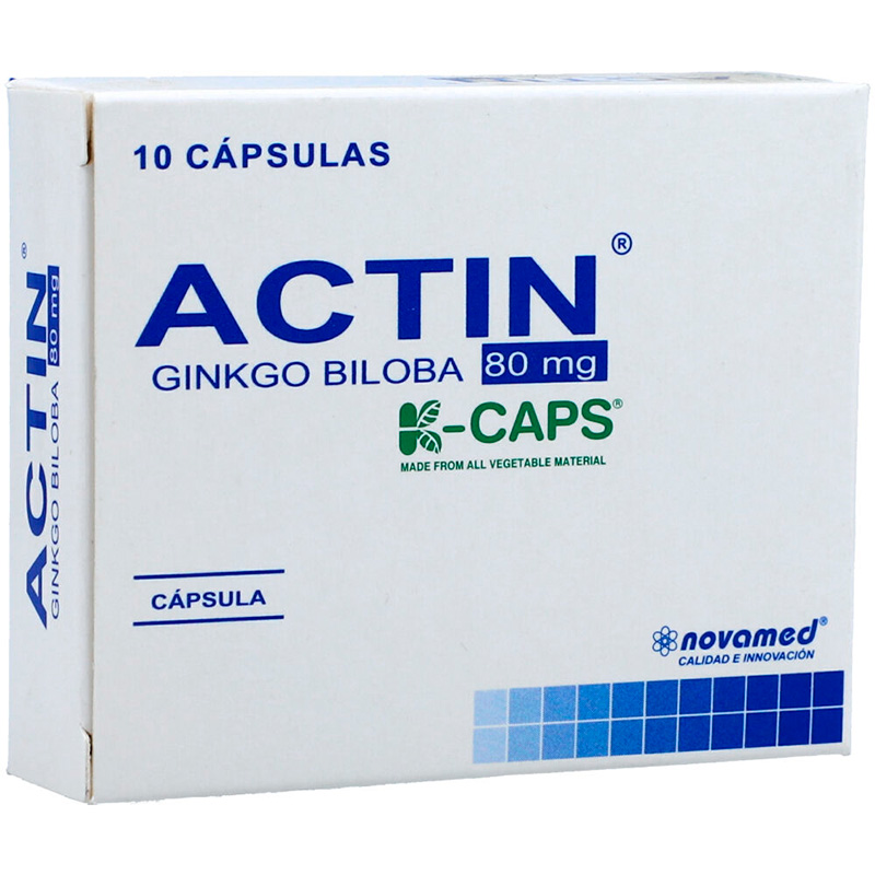 ACTIN 80MG X 10CAP.NM
