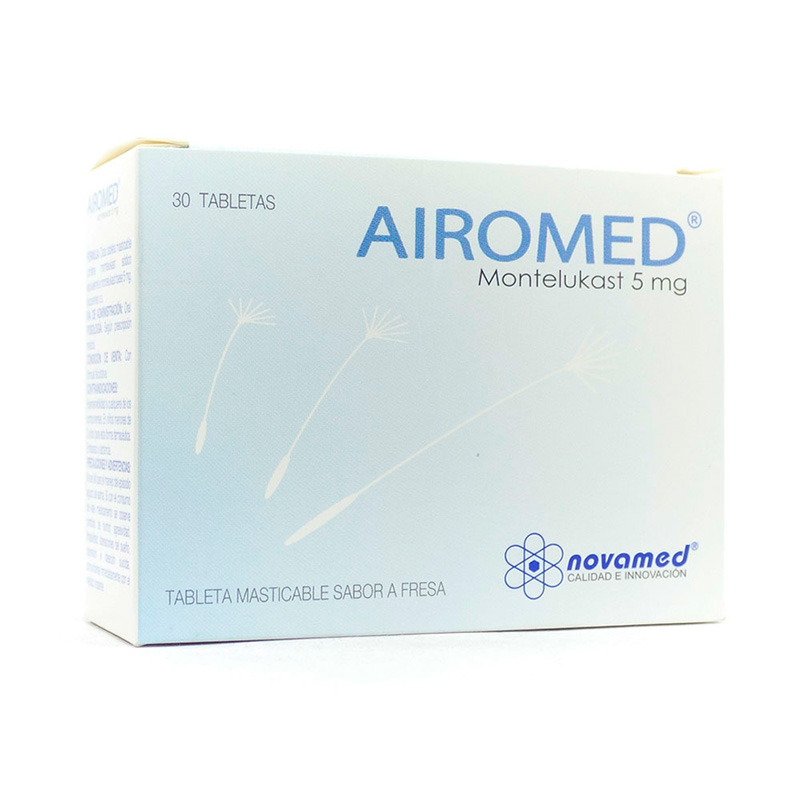 AIROMED 5MG X 30TAB FRESA NM