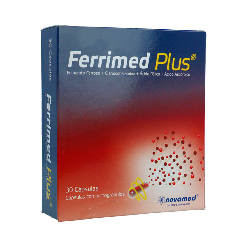 FERRIMED PLUS X 30CAP.NM