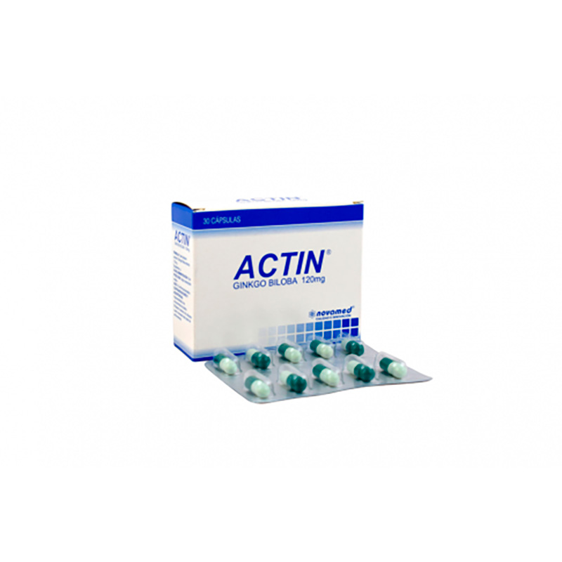 ACTIN 120MG X 30CAP.NM