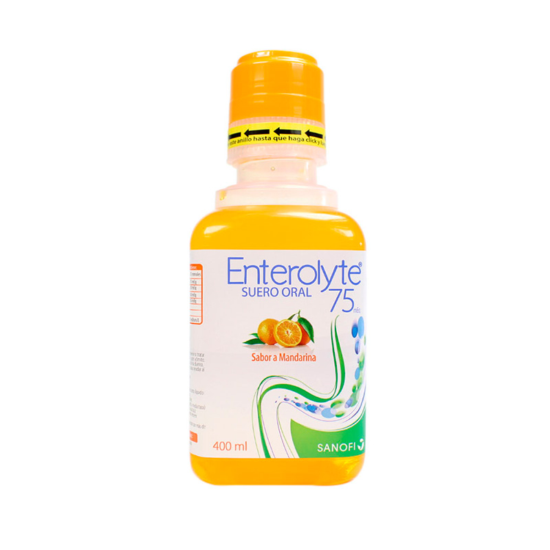 ENTEROLYTE SUERO ORAL MANDARINA X 400ML.SF