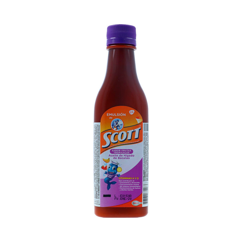 EMULSION SCOTT FRUTA TROPICAL X 180ML