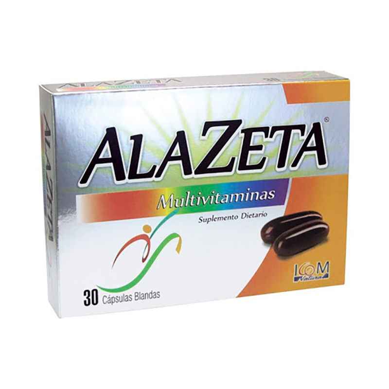 ALAZETA MULTIVITAMINICO X 30CAP IC