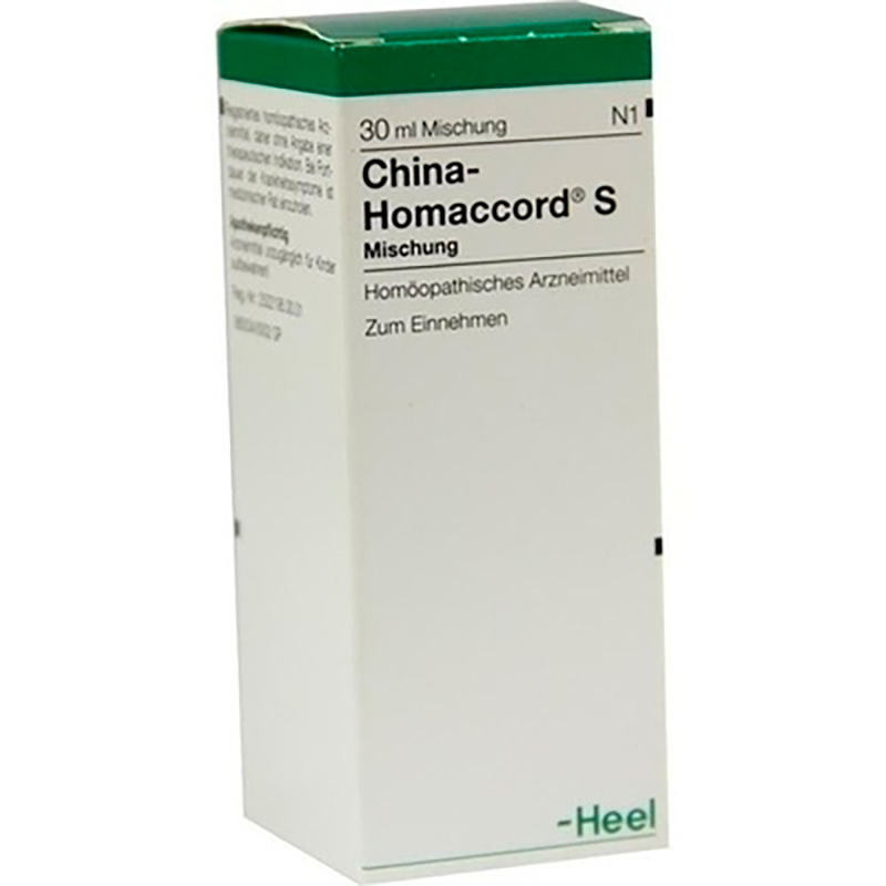 CHINA-HOMACCORD S X 30ML.H