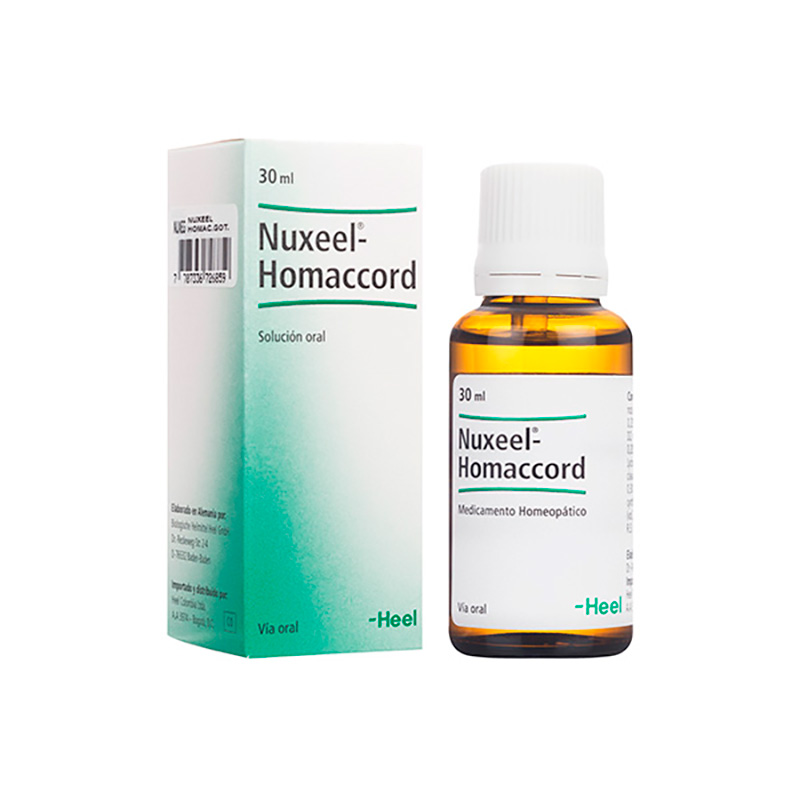 NUXEEL HOMACCORD SOLUCION ORAL X 30ML HC