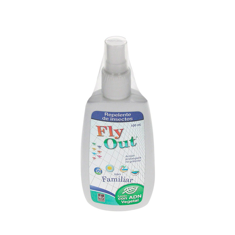 REPELENTE FLY-OUT SPRAY NIÃ'OS X 100ML.SG