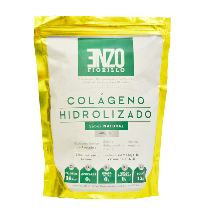 ENZO FIORILLO COLAGENO HIDROLZ. NATURAL/FRUIT PUNCH X 600GR.RC2